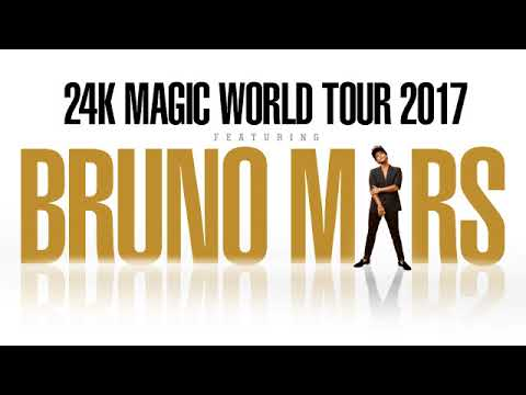 Concierto de Bruno Mars -Bogotá, Colombia 2017