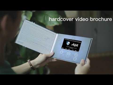 Funtek Custom Video Brochure with LCD Screen for Business Presentations