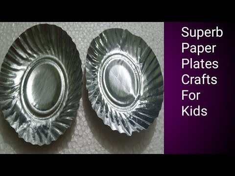 175. DIY  Best out of waste crafts ideas /  Easy Paper plates crafts For kids