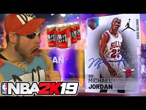 I risked it all for Galaxy Opal Michael Jordan NBA 2K19