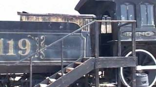Old West Locomotive Engine