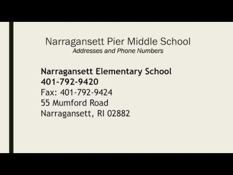 Narragansett Middle School