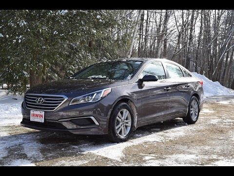 2017 Hyundai Sonata Se Pzev Review And Test Drive