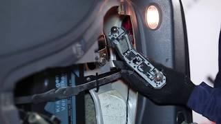 Montera Glödlampa Baklykta själv videoinstruktion på VW SHARAN