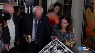 Sights and sounds from Bernie Sanders
