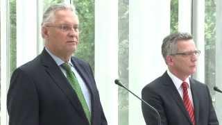 Bundesminister Dr. Thomas de Maizière zu Gast im Bayerischen Kabinett