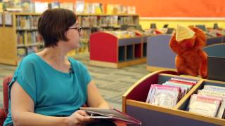 Library Larry Jokes - How do Chickens Drive?