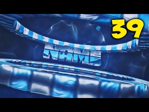 TOP 10 BLUE Intro Template #39 Cinema 4D & After Effects + Free Download