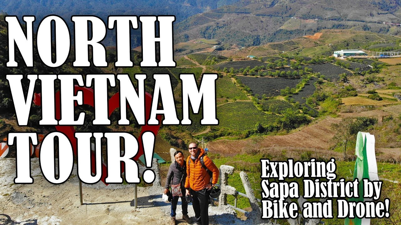 AMAZING Motorbike/Drone Tour of Sapa, Vietnam!