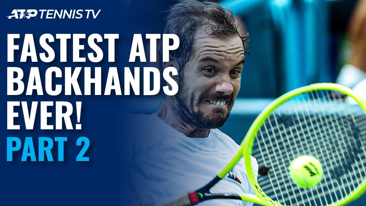 Fastest EVER ATP Backhands: Part 2 ⚡️