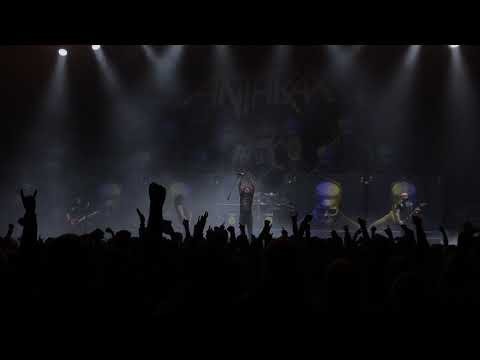 Anthrax - Fight ´Em ´Til You Can´t Live @ Helsinki Ice Hall, Finland 8/12/2018