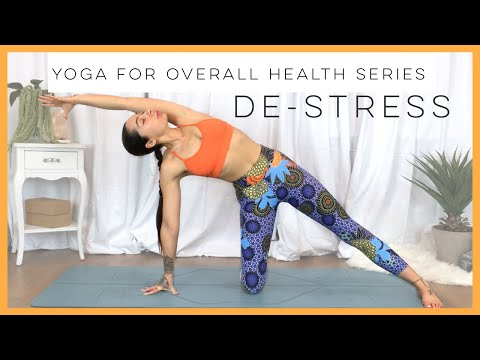 30 Minute Restorative Yoga For Stress And Relaxation   Yoga For Overall Health
