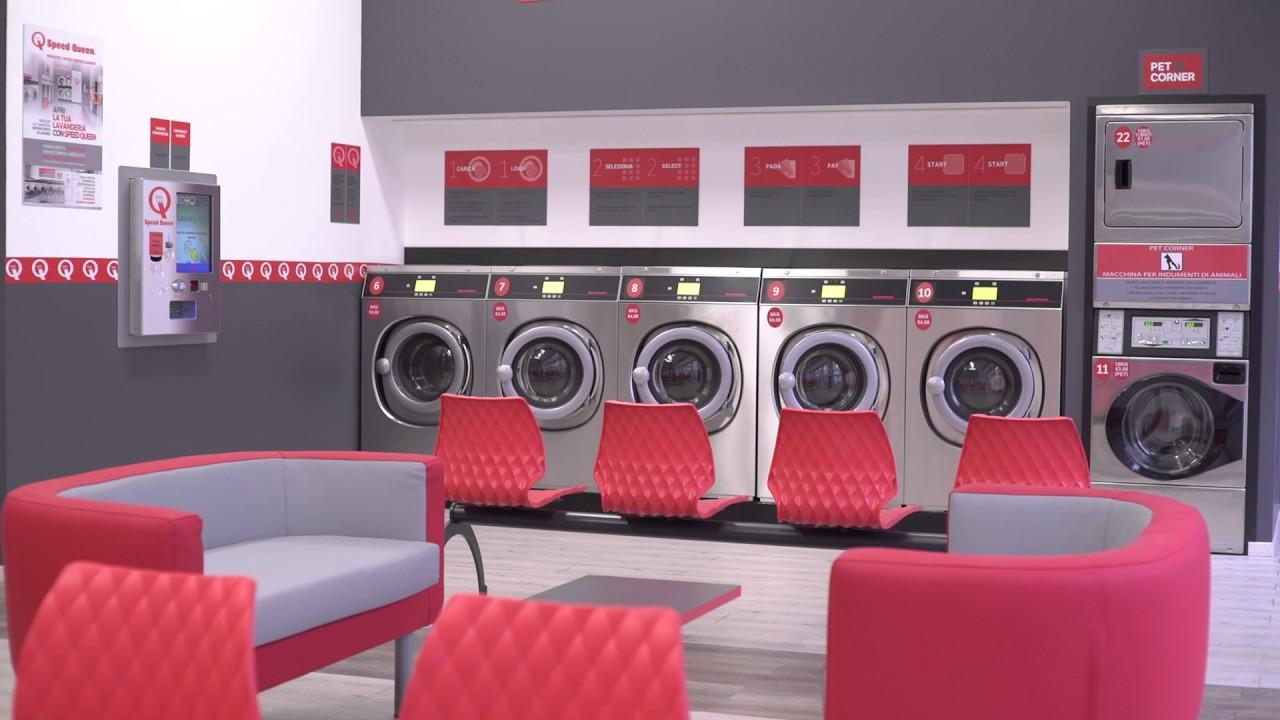 Apri anche tu una lavanderia self service speed queen for Lavanderia self service catania