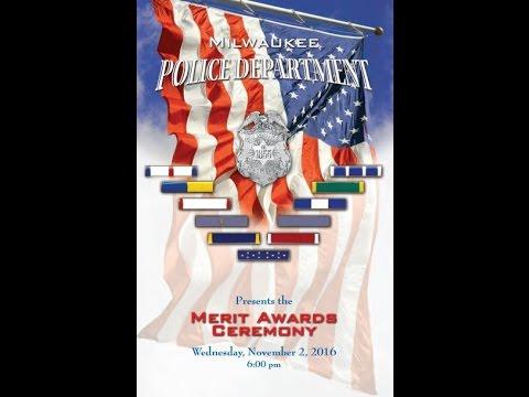 Milwaukee Police Merit Awards Ceremony 11-02-2016