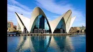 Достопримечательности Валенсии. Испания.(Королевство Испания - это страна с великой историей и культурой. Красивое, суверенное государство на юго-за..., 2015-05-12T11:35:03.000Z)