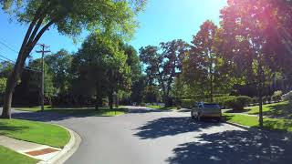 Winnetka Illinois USA driving 4K included  ( Home alone )