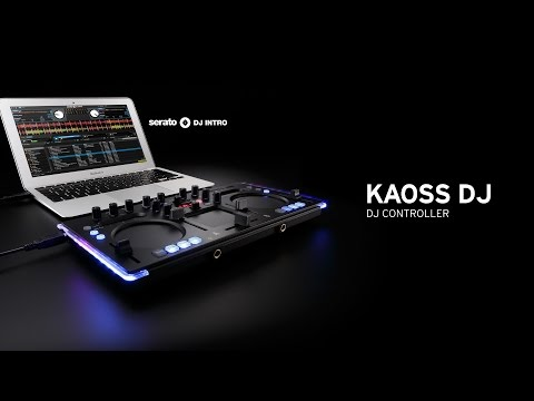 Korg Kaoss DJ - Control Your Mix (Free Serato DJ Intro Download)