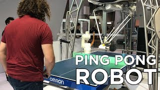I played Ping Pong against a robot