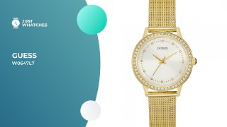 Guess W0647L7 Ladies' Watches Prices, Full Specs, Detailed Review in 360