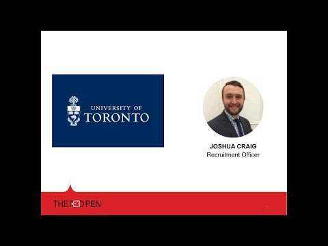 Webinar: Live Chat With Admissions - University Of Toronto