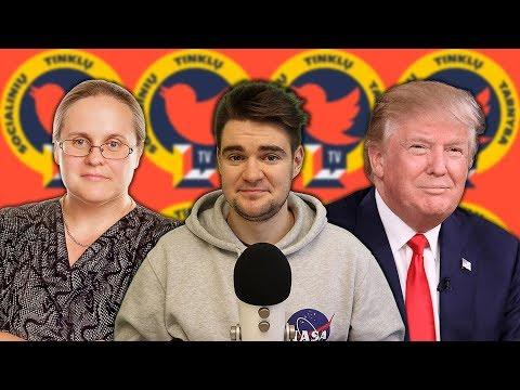 Donaldo Trumpo siena | Humoro jausmas ar six-pack? | Masiulio Haiku || STT – deMiko || Laisvės TV X