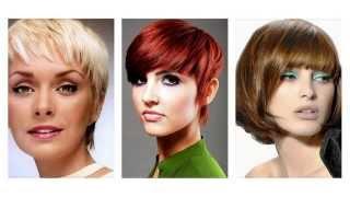 Modne fryzury z grzywką damskie - przegląd najlepszych