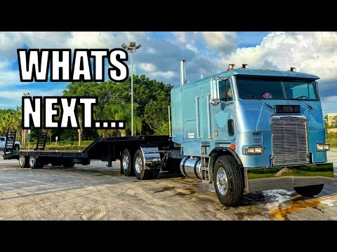 First Truck WASH With The Cabover!