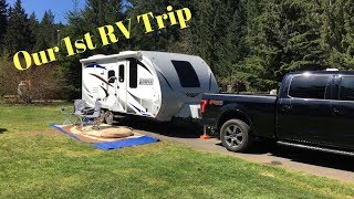 RV Living: Our First RV Trip in our Lance Travel Trailer