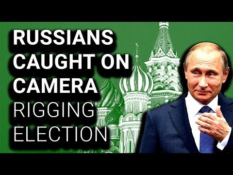 Countless Russians Caught on Video Stuffing Multiple Ballots