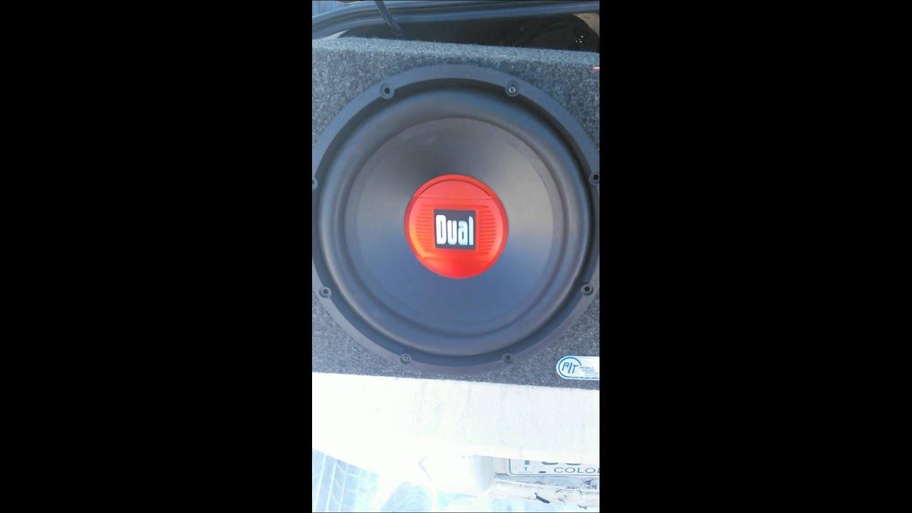 Dual 12\' speaker 875 watts flexing and hitting 👊 - YouTube
