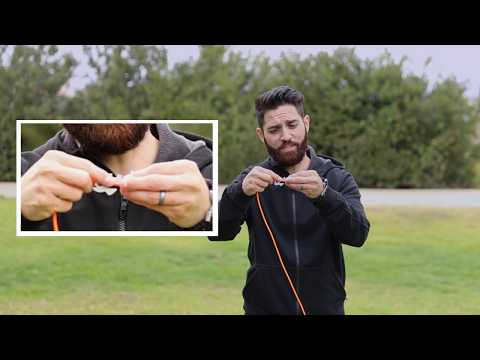 Introduction To Fish Bone Knotless Rope Tie