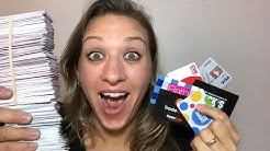 SHE FOUND 300 GIFT CARDS- HOW MUCH MONEY DID SHE GET?