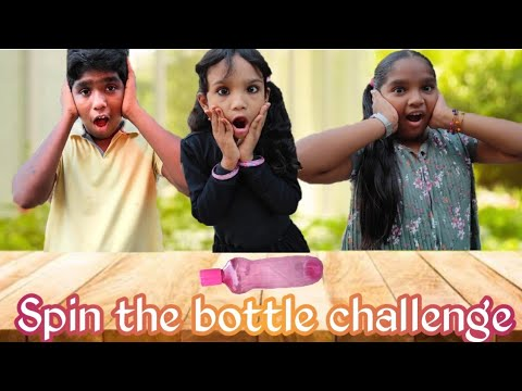 Spin the bottle challenge #Funny #Dares #Crazydance #Asnaa #Shifa #Amaan #EditedbyMehanaz😁