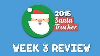 Google Santa Tracker 2015 Week 3