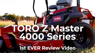 Toro Z Master 4000 Series - 1st Look USA - MainStreetMower