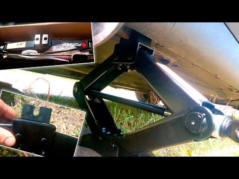 Как пользоваться автомобильным домкратом