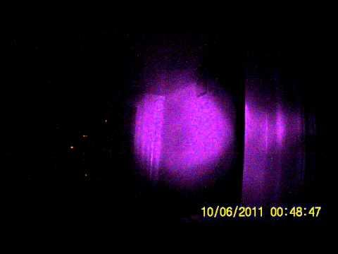 Видеорегистратор HD DVR 198, ( полная темнота.)