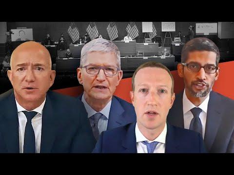 Tech CEOs vs Congress (in under 8 minutes)