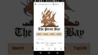 How to use pirate bay, kickass torrent,extra Torrent and many more using a single website