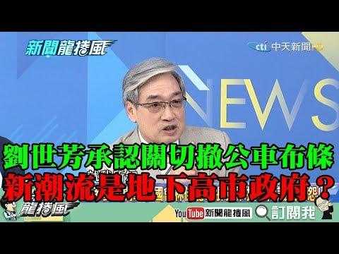 【精彩】擺明施壓?劉世芳承認關切撤公車布條 新潮流是地下高雄市政府?