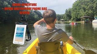 Kayak Adventure + MPOW Waterproof Phone Bag Review/VlogVentures #63