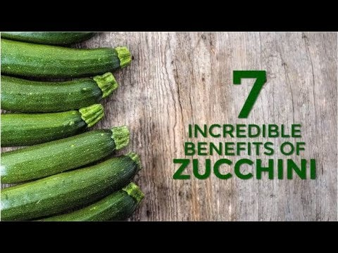 7 Incredible Benefits Of Zucchini or Courgette | Organic Facts