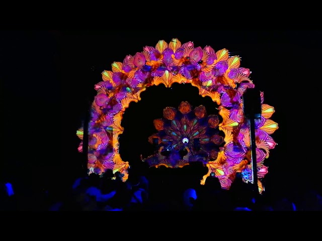 Artrance stage mapping at Munay 2018