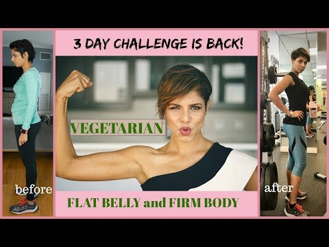 3 DAY CHALLENGE- How to LOSE WEIGHT FAST and TONE YOUR BODY/ BLUSH WITH ME-PARMITA