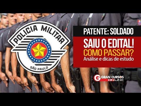 Concurso PM-SP Soldado 2018   Edital comentado e dicas de estudo - Como Passar?