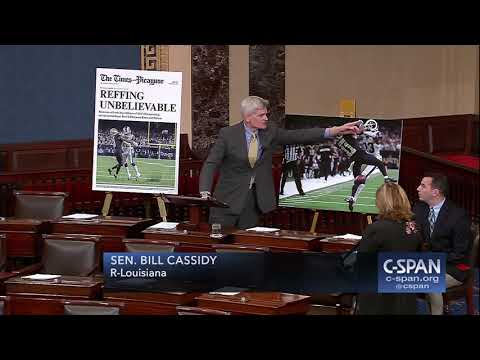 """Senator Cassidy (R-LA): """"The state of Louisiana is outraged..."""" (C-SPAN)"""