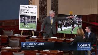 "Senator Cassidy (R-LA): ""The state of Louisiana is outraged..."" (C-SPAN)"