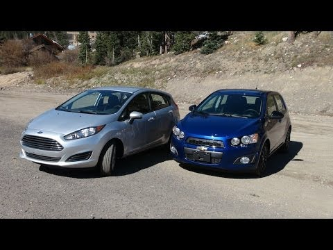 2014 ford fiesta vs chevy sonic turbo vs the ike gauntlet mashup review part 1 youtube. Black Bedroom Furniture Sets. Home Design Ideas