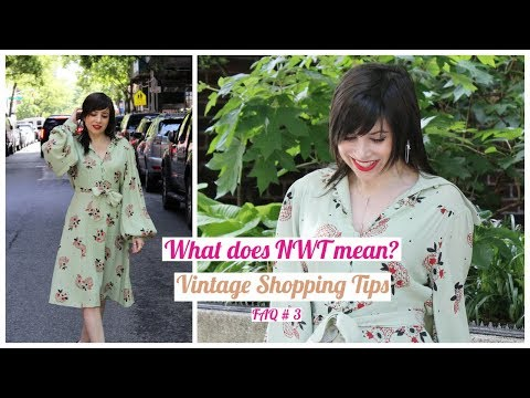 """FAQ: Is """"new"""" vintage a thing? Vintage shopping tips, part 3"""