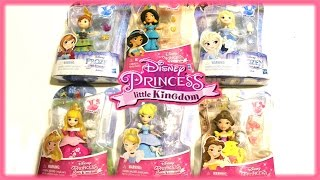 "Disney Princess Little Kingdom Jasmine/'s Slumber Party Rajah 3/"" Doll Snap Ins"